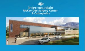 Image if the new IHC Surgery and Othro center in Ogden Utah.